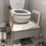 escalon para baño, muebles para chicos Irqichay