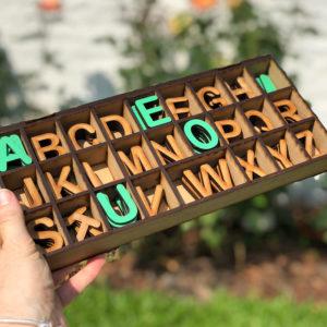Letras montessori