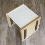 silla evolutiva cubo montessori muebles para la infancia irqichay
