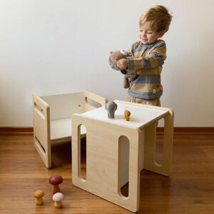 sillas de tres posiciones montessori