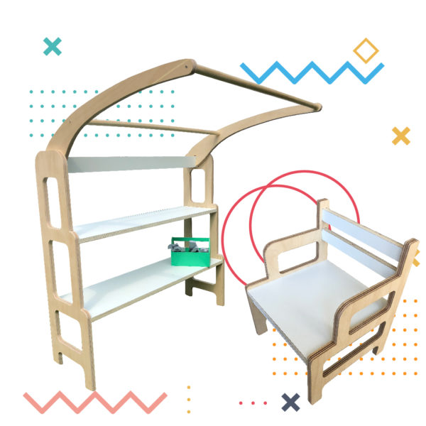 COMBO: Torre De Aprendizaje + Silla Benja