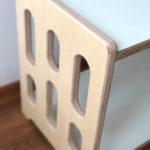 detalle mueble bajo montessori