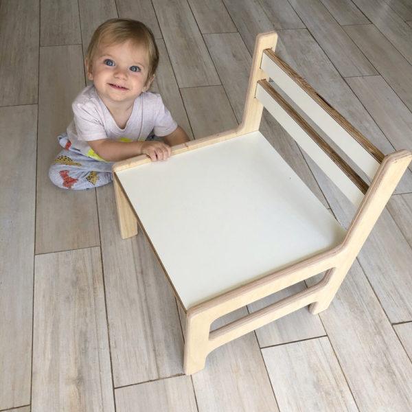 silla montssori baja