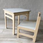 silla sala con mesa montessori