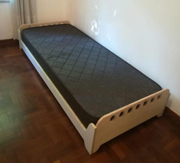 cama al ras del piso montessori