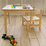 mesa y silla montessori